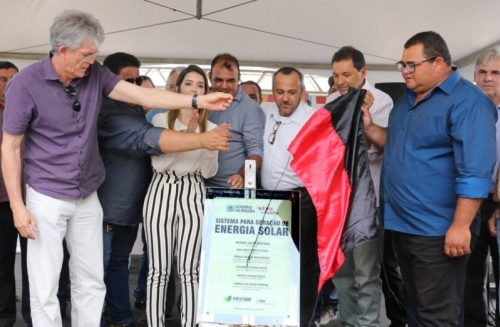 RC entrega reforma e acesso de aeródromo de Monteiro e bloco de salas da UEPB