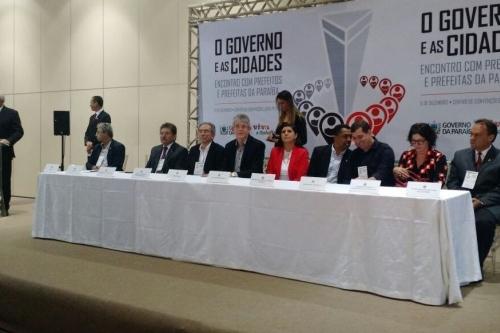Governador Ricardo Coutinho reúne prefeitos, vices e lideranças políticas dos municípios