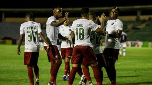Flu goleia o River e vai à segunda fase da Copa do Brasil