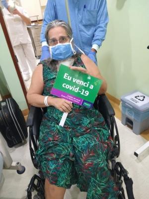 MAIS UMA VITORIOSA: Após 40 dias na UTI da Unimed, odontóloga vence a Covid19