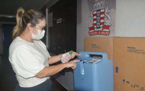 PMJP recebe 21 concentradores de oxigênio do MS e reforça rede de assistência à Covid-19