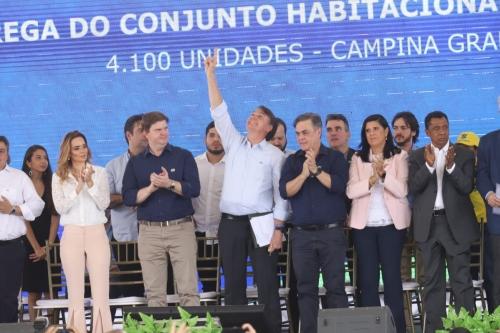 Em Campina, Cássio reaparece na cena política e recebe elogios de Bolsonaro