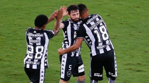 Botafogo vence Avaí e deixa zona do rebaixamento
