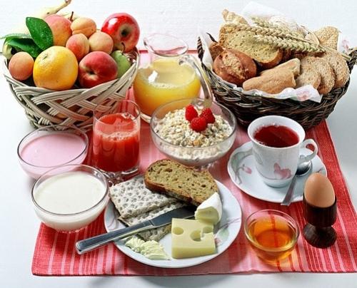 O café da manhã merece uma atenção especial
