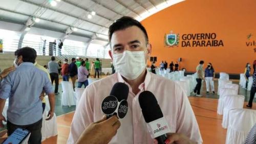 Deputado Raniery Paulino reafirma apoio à reeleição do governador João Azevedo
