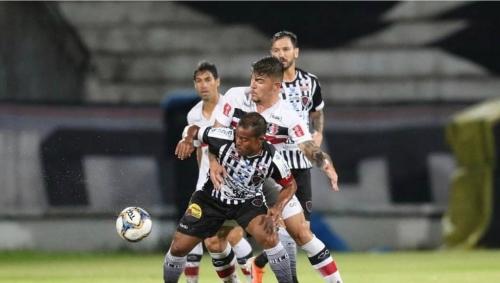 SÉRIE C : Botafogo (PB) e Santa Cruz (PE) empatam empatam no Arruda