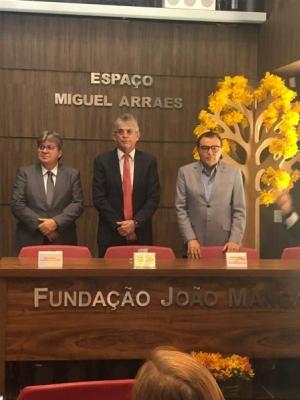 Azevedo prestigia posse de Ricardo na Fundação João Mangabeira