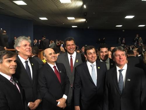 Gervásio participa da posse da nova procuradora-geral da República