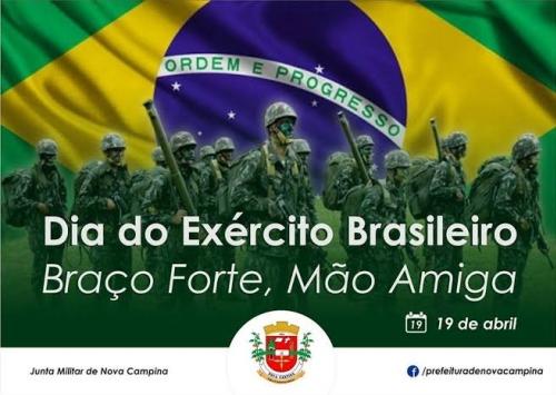 Celebra-se hoje 373 anos do EXÉRCITO BRASILEIRO