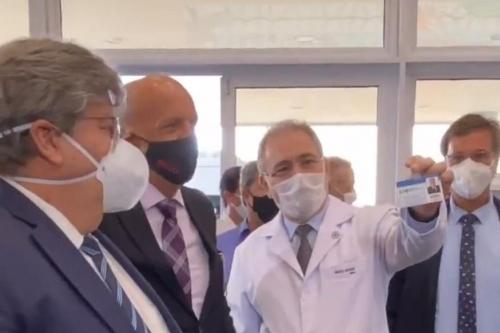 Secretário de Saúde destaca tratamento recebido do governo Bolsonaro no combate a Covid-19