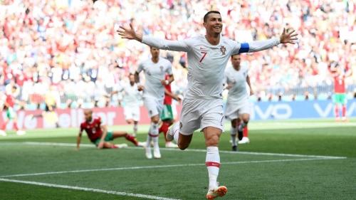 Portugal vence o Marrocos com gol relâmpago de Cristiano Ronaldo