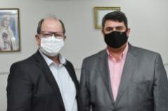 Presidente da CMJP recebe visita do presidente da Unimed João Pessoa