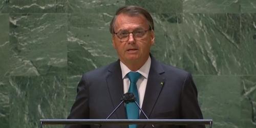 """Bolsonaro na ONU: """"Venho aqui mostrar um Brasil diferente daquilo publicado em jornais ou visto em televisões"""""""