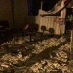 Bandidos cercam destacamento da PM e explodem banco no Agreste