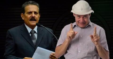 Tião Gomes presta queixa na policia contra Zé Lezin;
