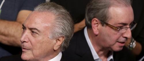 Michel Temer tem receio de ter sido gravado por Cunha