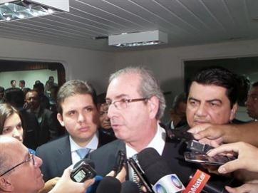 Cunha diz que entrar� na hist�ria por