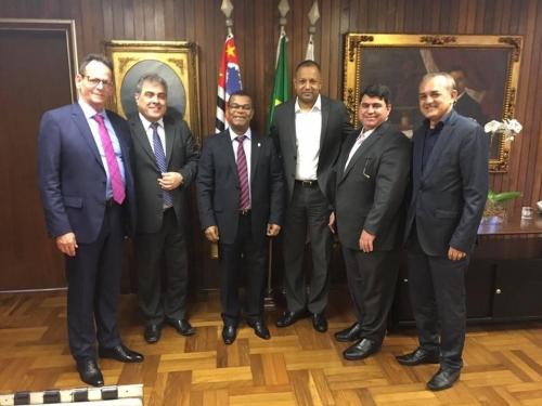 Vereadores de João Pessoa são recebidos na Câmara de São Paulo
