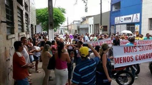 Servidores de Santa Rita come�am a receber sal�rios