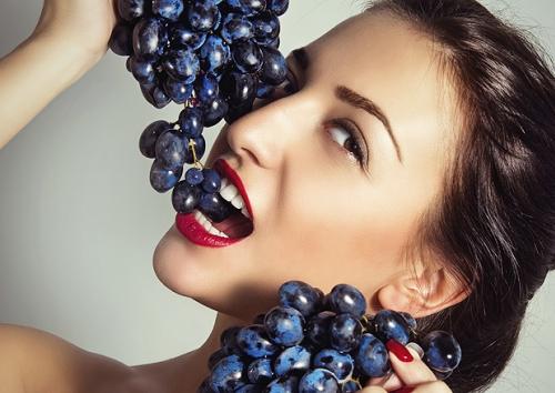 Incr�veis benef�cios da uva para sa�de e beleza