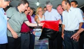Governador RC inaugura sistema de dessalinização no Cariri paraibano