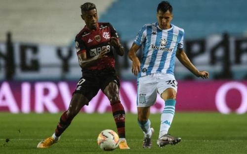 Flamengo empata com o Racing na Argentina pela Libertadores