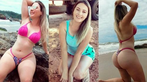Aline, a caminhoneira mais linda do Brasil